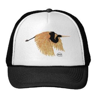 Golden Heron Trucker Hats