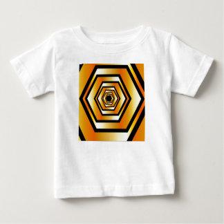Golden hexagon baby T-Shirt