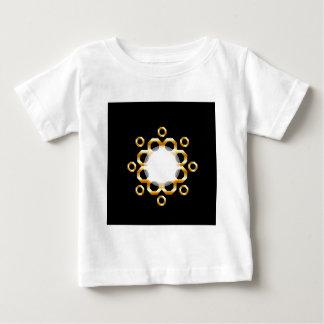 Golden hexagonal design element baby T-Shirt