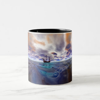 Golden Hind Two-Tone Coffee Mug