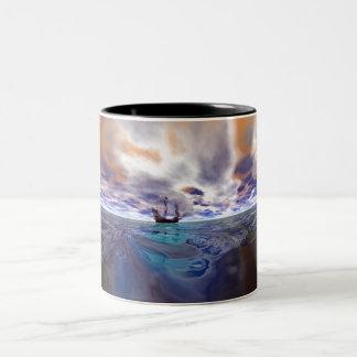 Golden Hind Two-Tone Coffee Mug