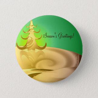 Golden Holidays Button