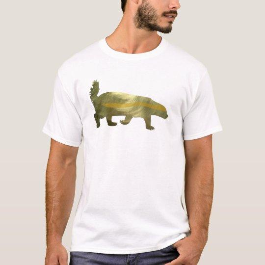 golden honey badger T-Shirt