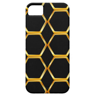 Golden honey cell background iPhone SE/5/5s case