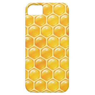 Golden Honey Honeycomb Beehive case