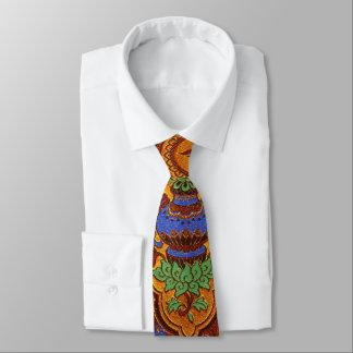 Golden Hong Kong Design Neck Tie