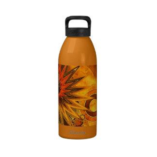 Golden Hoopla Reusable Water Bottles