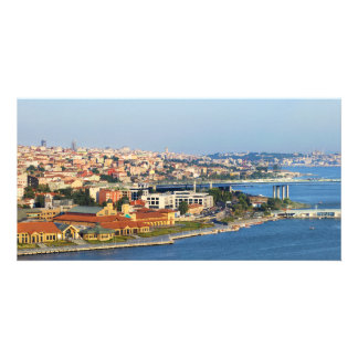 Golden Horn Istanbul Turkey From Pierre Loti Cafe Card