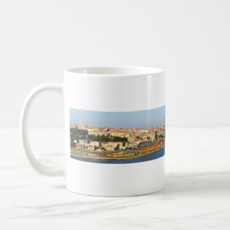 Golden Horn Istanbul Turkey From Pierre Loti Cafe Coffee Mug