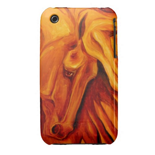 Golden Horse iPhone 3 Covers
