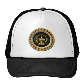 Golden Horse Of Peace Trucker Hat