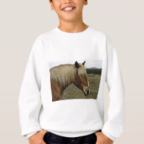 Golden horse sweatshirt