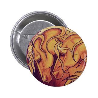 Golden Horses Pins