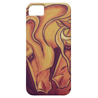 Golden Horses II iPhone SE/5/5s Case