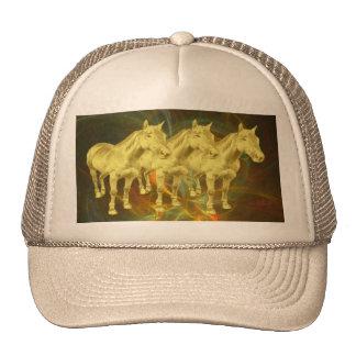 Golden Horses Trucker Hat