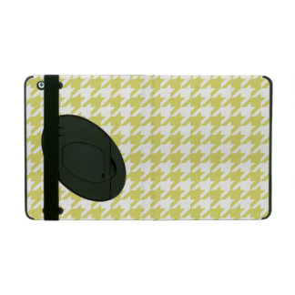 Golden Houndstooth 1 iPad Cover