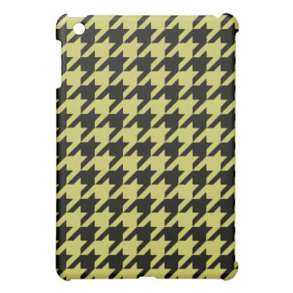 Golden Houndstooth 2 Cover For The iPad Mini