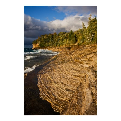 Golden Hour At Mosquito Beach Print