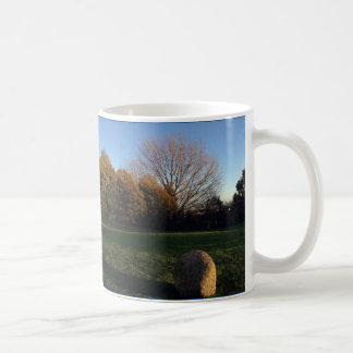 Golden Hour at the Stone Circle Coffee Mug