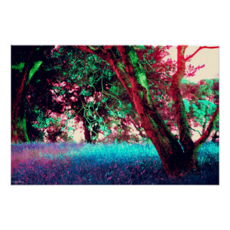 """Golden Hour Poster - Size Small (26"""" x 17"""")"""