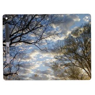 Golden Hour Sunset Dry Erase Board