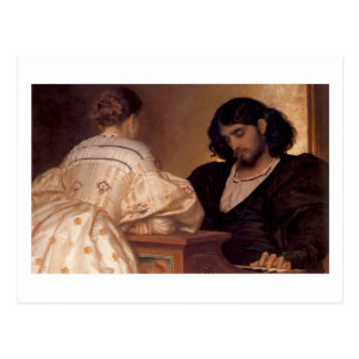 Golden Hours - Lord Frederick Leighton Postcard