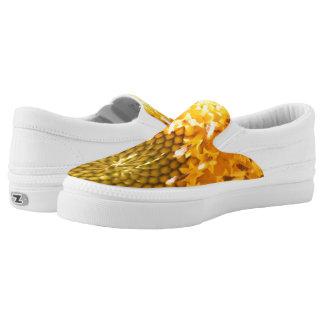 Golden Hues Z slipons Slip-On Sneakers