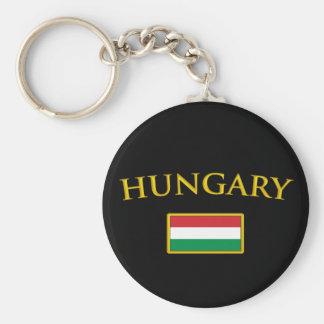 Golden Hungary Keychain