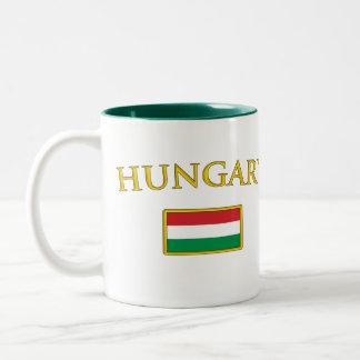 Golden Hungary Two-Tone Coffee Mug