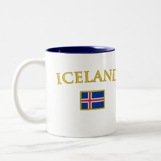 Golden Iceland Coffee Mug