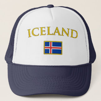 Golden Iceland Trucker Hat