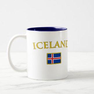 Golden Iceland Two-Tone Coffee Mug