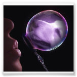 Golden In A Bubble Photo Print