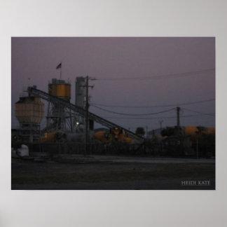 Golden Industry Poster