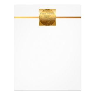 Golden International Christmas Letterhead