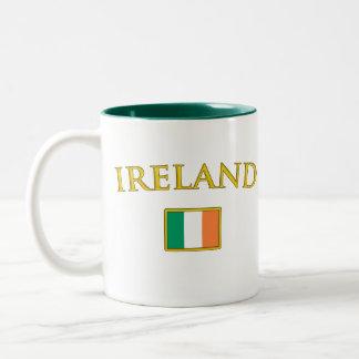 Golden Ireland Two-Tone Coffee Mug