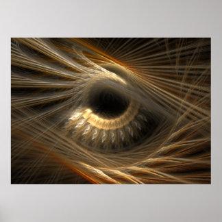 'Golden Iris' Poster