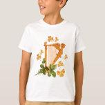 Golden Irish Harp T-Shirt
