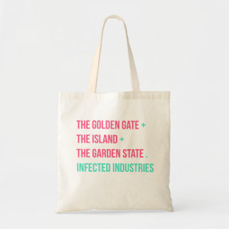 Golden Island Garden tote