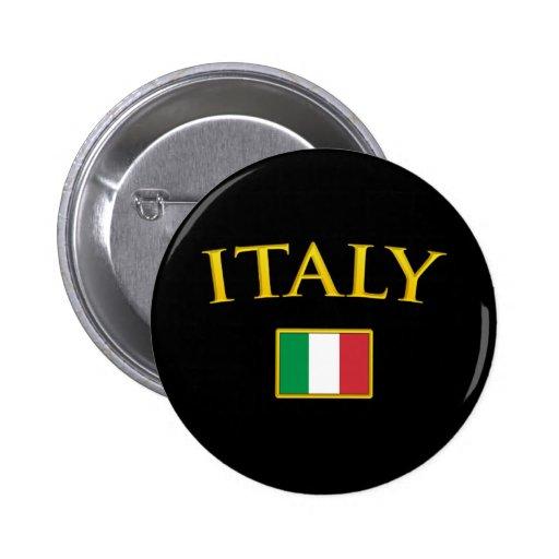 Golden Italy 2 Inch Round Button