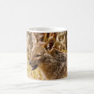 Golden Jackal Canis Aureus Classic White Coffee Mug