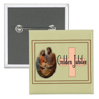 Golden Jubilee Gifts for Nuns Button