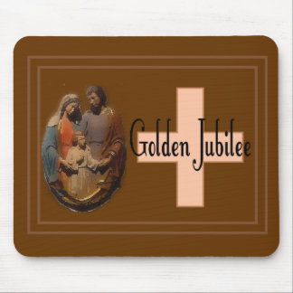 Golden Jubilee Gifts for Nuns Mouse Pad