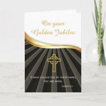 Golden Jubilee of Ordination 50 Year Anniversary B Card
