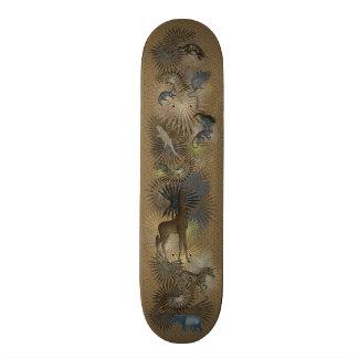 'Golden Jungle' Skateboard Decks