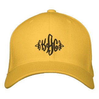 Golden KaC Chapeau Embroidered Hat