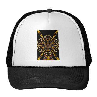 Golden Kaleidoscope Trucker Hat