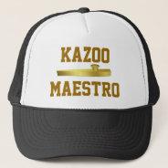 Golden Kazoo Musical Instrument Musicians Hat at Zazzle