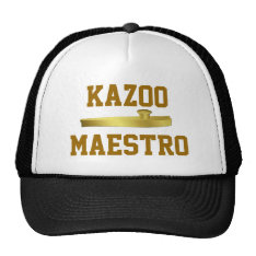 Golden Kazoo Musical Instrument Musicians Hat at Zazzle