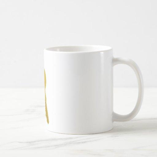 golden key coffee mug